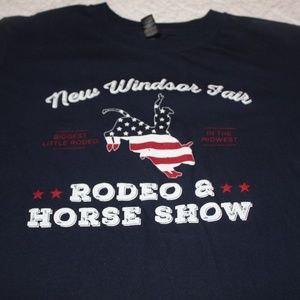 Other - Rodeo and Horse Show T-Shirt Medium